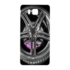 Bord Edge Wheel Tire Black Car Samsung Galaxy Alpha Hardshell Back Case