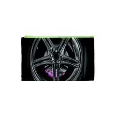 Bord Edge Wheel Tire Black Car Cosmetic Bag (XS)