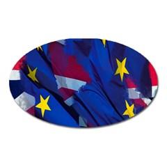 Brexit Referendum Uk Oval Magnet