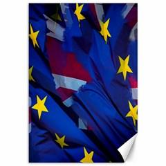 Brexit Referendum Uk Canvas 12  x 18