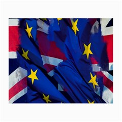 Brexit Referendum Uk Small Glasses Cloth (2-Side)