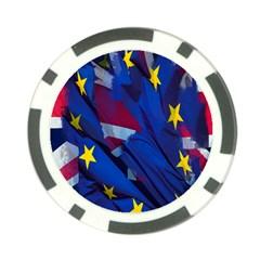 Brexit Referendum Uk Poker Chip Card Guard