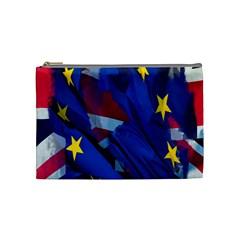 Brexit Referendum Uk Cosmetic Bag (Medium)