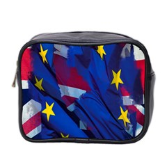 Brexit Referendum Uk Mini Toiletries Bag 2-Side