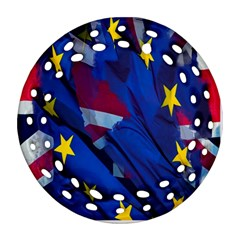 Brexit Referendum Uk Ornament (Round Filigree)