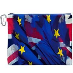 Brexit Referendum Uk Canvas Cosmetic Bag (xxxl)