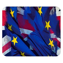 Brexit Referendum Uk Double Sided Flano Blanket (small)