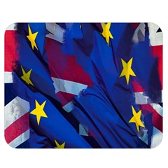 Brexit Referendum Uk Double Sided Flano Blanket (medium)