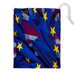 Brexit Referendum Uk Drawstring Pouches (xxl)