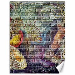Brick Of Walls With Color Patterns Canvas 18  x 24