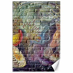 Brick Of Walls With Color Patterns Canvas 20  x 30