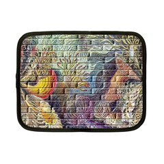 Brick Of Walls With Color Patterns Netbook Case (Small)