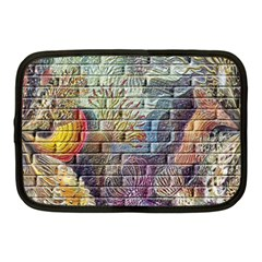 Brick Of Walls With Color Patterns Netbook Case (Medium)