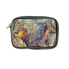 Brick Of Walls With Color Patterns Coin Purse