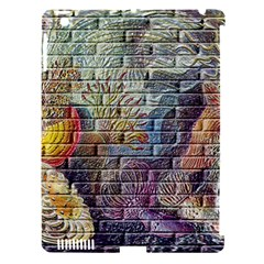 Brick Of Walls With Color Patterns Apple iPad 3/4 Hardshell Case (Compatible with Smart Cover)