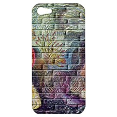 Brick Of Walls With Color Patterns Apple Iphone 5 Hardshell Case
