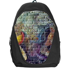 Brick Of Walls With Color Patterns Backpack Bag