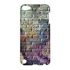Brick Of Walls With Color Patterns Apple iPod Touch 5 Hardshell Case