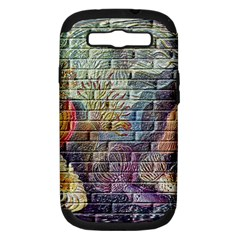 Brick Of Walls With Color Patterns Samsung Galaxy S Iii Hardshell Case (pc+silicone)