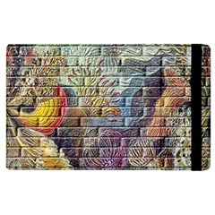 Brick Of Walls With Color Patterns Apple iPad 3/4 Flip Case
