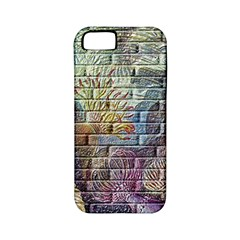 Brick Of Walls With Color Patterns Apple Iphone 5 Classic Hardshell Case (pc+silicone)