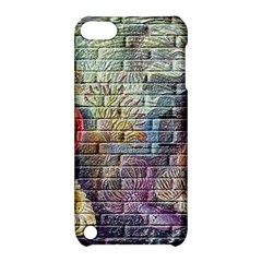 Brick Of Walls With Color Patterns Apple iPod Touch 5 Hardshell Case with Stand