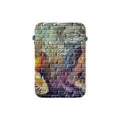 Brick Of Walls With Color Patterns Apple iPad Mini Protective Soft Cases