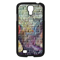 Brick Of Walls With Color Patterns Samsung Galaxy S4 I9500/ I9505 Case (black)