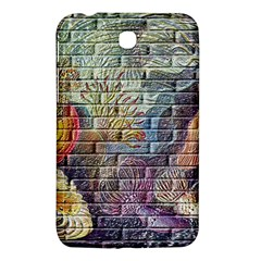 Brick Of Walls With Color Patterns Samsung Galaxy Tab 3 (7 ) P3200 Hardshell Case