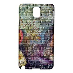 Brick Of Walls With Color Patterns Samsung Galaxy Note 3 N9005 Hardshell Case