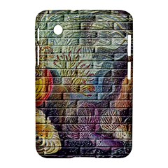 Brick Of Walls With Color Patterns Samsung Galaxy Tab 2 (7 ) P3100 Hardshell Case