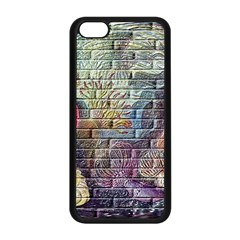 Brick Of Walls With Color Patterns Apple iPhone 5C Seamless Case (Black)