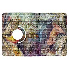 Brick Of Walls With Color Patterns Kindle Fire HDX Flip 360 Case