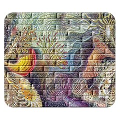 Brick Of Walls With Color Patterns Double Sided Flano Blanket (Small)