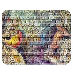 Brick Of Walls With Color Patterns Double Sided Flano Blanket (medium)