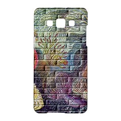 Brick Of Walls With Color Patterns Samsung Galaxy A5 Hardshell Case