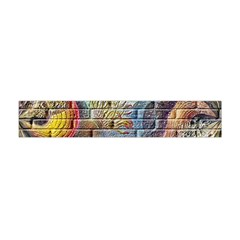Brick Of Walls With Color Patterns Flano Scarf (Mini)