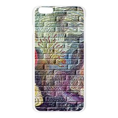 Brick Of Walls With Color Patterns Apple Seamless iPhone 6 Plus/6S Plus Case (Transparent)