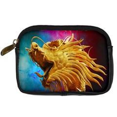 Broncefigur Golden Dragon Digital Camera Cases