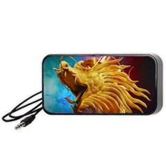 Broncefigur Golden Dragon Portable Speaker (Black)