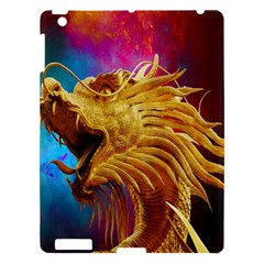 Broncefigur Golden Dragon Apple iPad 3/4 Hardshell Case