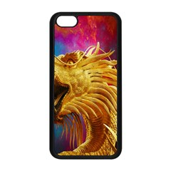 Broncefigur Golden Dragon Apple Iphone 5c Seamless Case (black)