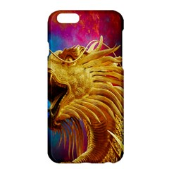 Broncefigur Golden Dragon Apple Iphone 6 Plus/6s Plus Hardshell Case