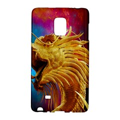 Broncefigur Golden Dragon Galaxy Note Edge
