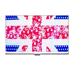 British Flag Abstract Business Card Holders