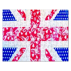 British Flag Abstract Rectangular Jigsaw Puzzl