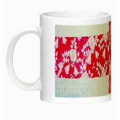 British Flag Abstract Night Luminous Mugs