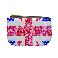 British Flag Abstract Mini Coin Purses