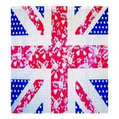 British Flag Abstract Shower Curtain 66  x 72  (Large)