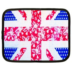 British Flag Abstract Netbook Case (XXL)